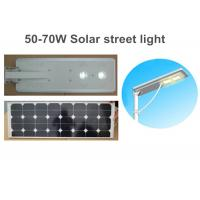 China 50W Solar LED Street Lights Led Street Lamps For Square Lighting on sale