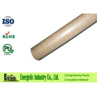 Buy cheap Custom Glass Fiber Filled PPS Rod , 6 mm to 150mm Rods Diameter product