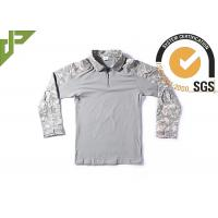 Buy cheap ACU Frog Military Combat Uniform Flame Retardant With Knee Pad Long Sleeve product
