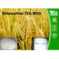 Buy cheap Chlorsulfron 75% WDG Select Herbicide Professional Weed Killer Cas No. 64902-72-3 product