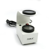 Buy cheap High quality optical lens White Desktop type With Conoscope Interference ball Glass testing instrument Gem Polariscope product
