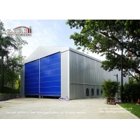 Buy cheap High Quality Warehouse Tent 11m Side Height Water Proof Fire Retarant PVC Sidewall product