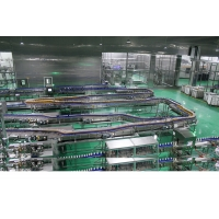 Buy cheap Filling Machine Bottle Lines 304 SS Air Conveyor System product