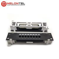 Buy cheap RJ45 Krone IDC Network Patch Panel 8 Port Wall Mount MT4005-B With Frame from wholesalers