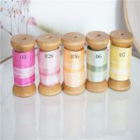 Buy cheap 1-65-2-73  variegated silk ribbon,multicolor ribbon,rainbow 100% silk ribbon,ribbon,embroidery ribbon product