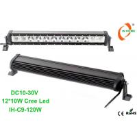 China Single Row 120W Led Light Bar Combo Beam Truck Work Light IP67 Waterproof Cree Light Bar on sale