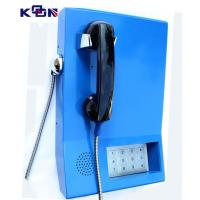 Buy cheap 110 120 119 Auto Dial Emergency Phone , Blue Wall Mounting Telephone product