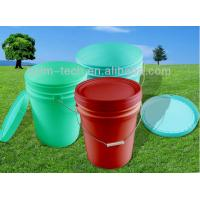5 5 gallon clear plastic pail bucket with handle and lid for 1 gallon clear plastic paint cans