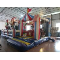 Buy cheap Circus Clown Themed Inflatable Fun City For Multiplay 2 - 3 Years New Inflatable Clown Obstacle Course product