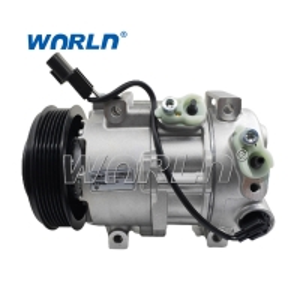 Buy cheap 977011R900 Auto AC Compressor For Hyundai Accent KIA RIO DV14 6PK product
