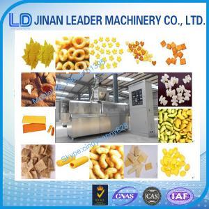 Buy cheap Fábrica soplada automática de Jinan de la máquina del extrusor de la máquina de proceso de los snacks product