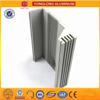 Buy cheap Heat Insulating Aluminum Section Materials For Window Frame Silver Color product