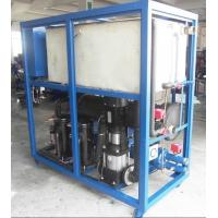 Commercial Industrial Water Cooled Chiller , R22 Refrigerant