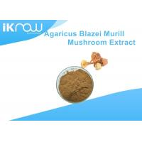 China Yellow Polysaccharides Powdered Herbal Extracts Agaricus Blazei Murrill Extract on sale