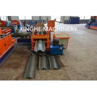 China Smart Highway Guardrail Roll Forming Machine For 2 Wave Galvanized Guardrail on sale