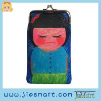 Buy cheap JSMART artwork custom printing cellphone bag metal-framed from wholesalers