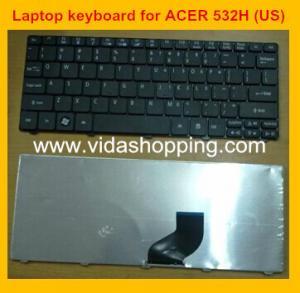 O teclado do caderno para Acer COMO UM 532H D255 D260 ZG8 523H kav60 aspira um P531H AO530 E.U.