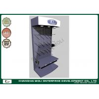 Buy cheap Powder coated garden tool storage racks / wire mesh display stands for supermarket product