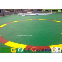 Buy cheap Custom Colored EPDM Rubber Granules / High Elasticity Sport Court Flooring from wholesalers