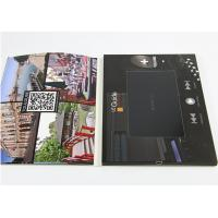 Quality Paper Material LCD Video Brochure Card With Rechargeable 300mah-5000mah Battery for sale