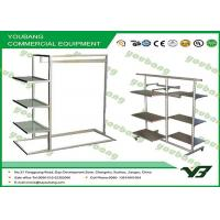 Buy cheap Collapsible  Stainless Steel Metal Garment Rack Cloth Hanger Stand Display product