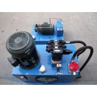 Buy cheap Professional fuel or electric hydraulic power pack  unit 12V / 24Volt DC & AC product