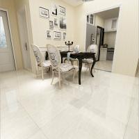 China Brand names 10x10 polished white ceramic tile flooring prices on sale