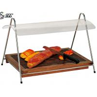 Buy cheap Wooden Bread Carving Station Catering Buffet Display Stands For Bread Shop from wholesalers
