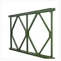 Buy cheap Prefabricated Steel Bridge With Deck , Portable Launching Military Temporary Bridge product