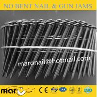 China Hot dipped galvanized screw coil nail 2.5*50mm on sale