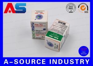 China Medical Science Carton Box 10ml Vial Boxes CMYK Regular Printing Glossy Box wholesale