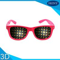 China Diffraction glasses clear 13500 lines per inch for  firework glasses on sale