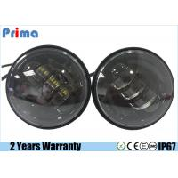 China 30W Harley LED Jeep Headlight IP67 Waterproof 2520lm Lumen 4.5 Inch on sale