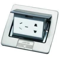 Buy cheap DCT-B28/PB Stainless steel Pop up floor socket outlet from wholesalers