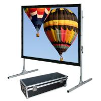 Buy cheap Outdoor Folding Roll Up fast fold projection screen For Cinema product