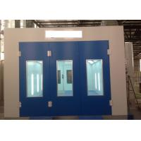 Precision Diesel Burner Heated Paint Booth , Drying Oven Spray Booth For Woodworking