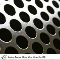 Buy cheap Round Hole Patten Perforated Sheet|Stainless Steel Perforated Plate R4 T6 product