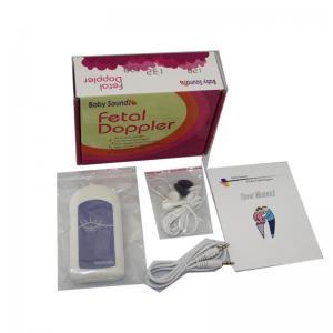 Buy cheap Mini poche de Protable de taille Doppler foetal sans bruit A de bébé de modèle d'affichage product
