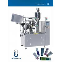 Buy cheap Servo Motor Control laminated / Plastic Tube Filling And Sealing Machine High Speed product