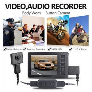 Buy cheap Mini Spy Button HD 1920*1080P Video Hidden Camera Camcorder Recorder Cam,Enforcement Recorder product