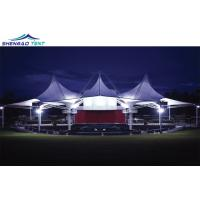 Buy cheap Big Tensile Membrane Structure Architecture Tent with Steel Structure for from wholesalers