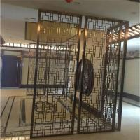 Buy cheap Designed Folding screen room divider stainless steel decorative metal screen product