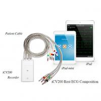 China 12 lead handheld iPad / iPod ECG machine for medical from China factory wholesale