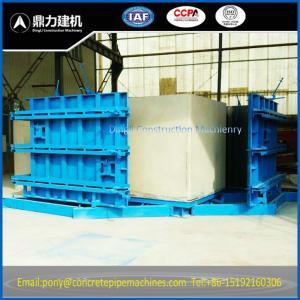 Buy cheap concrete culvert box pipe line mold machine product