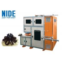 Buy cheap 2 Winding Heads Electrical Motor Automatic Stator Winding Machine for Washing from wholesalers
