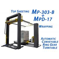 Buy cheap Waterproof Automatic Pallet Wrapper Reduce Goods Loss During Transporting product