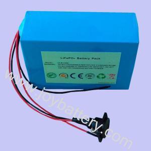 China 12.8V 12Ah LiFePO4 battery pack for solar lamp, solar street light, solar traffic light on sale