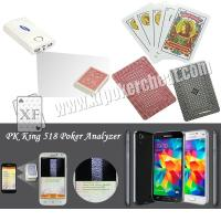 Buy cheap Royal Marked Poker Cards , Cheating Playing Cards For Infrared Camera Poker Analyzer product