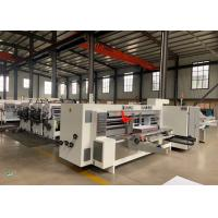 Buy cheap Model 2200 X 800 Corrugated Paperboard Automatic Slotter And Creaser Machine  / Diameter 270 mm product