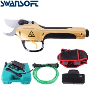 Buy cheap Swansoft 30mm Tijeras de podar 36V tijeras de podar de batería de litio tijeras de podar de poste telescópico product